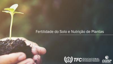 4ª TURMA - Fertilidade do Solo e Nutrição de Plantas – POLO PALMAS